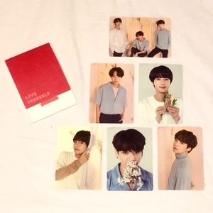 {BTS} OFFICIAL PHOTOCARDS LY: WORLD TOUR